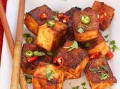 Mala Baked Tofu Bites #SundaySupper
