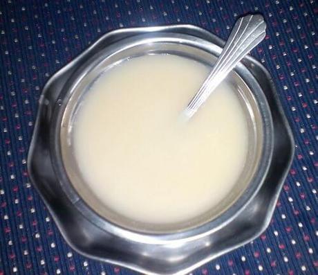 brown rice moong dal porridge