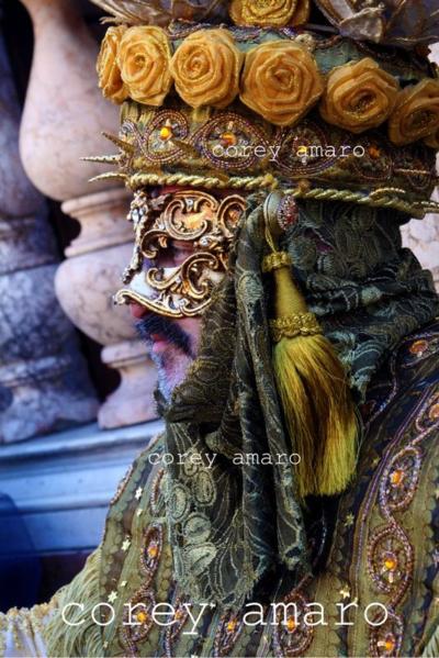 Venice carnival corey amaro photography Extreme textile detailing
