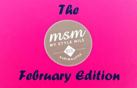 MSM Box February contents