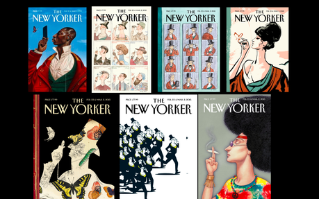 The New Yorker turns 90 with lesson on its 9 covers