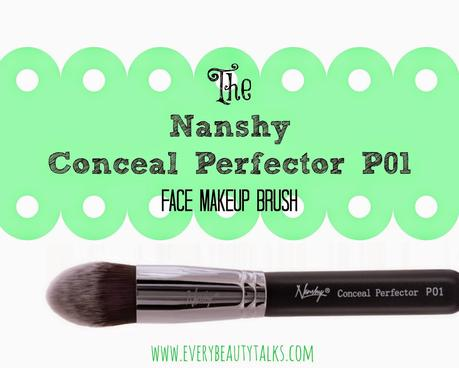 Could This Be the Concealer Brush to Rule Them All? The Nanshy Conceal Perfector P01 Face Makeup Brush