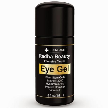 Like a Goddess with Radha Beauty's Intensive Youth Eye Gel