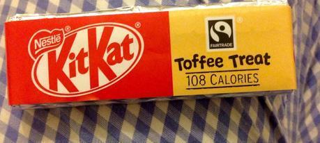 Kitkat Toffee Treat