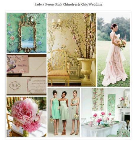 Chinoiserie is one of the top wedding trends of the year