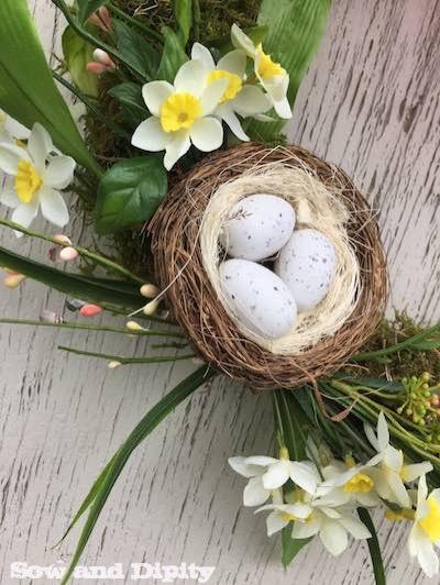 Easy Moss Wreath for Spring