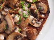 Mushrooms Toast