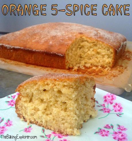 Orange 5-Spice Cake