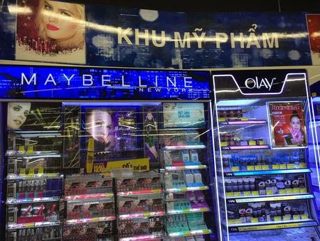 Ultra Chic English Speaking Mall in Cambodia and Viet Nam feature Maybelline