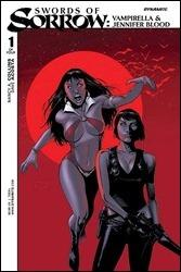 Swords of Sorrow #1 Cover A - Vampirella & Jennifer Blood - Tan