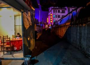 Backstreets at Night, Travel from Changsha to Zhangjiajie