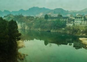 Views from Train, Travel from Changsha to Zhangjiajie