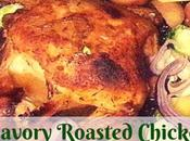 Savory Easy Roasted Chicken with Vegetables