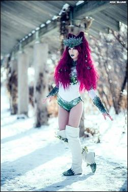 HJ Steele as Winter Poison Ivy (Photo by Erik Blume)