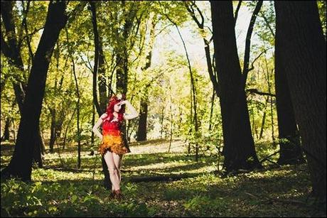 HJ Steele as Autumn Poison Ivy (Photo by Chris McDuffie)