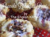 Cherry Granola Breakfast Buns