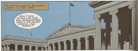 A Cartoon & Comic Book Tour of #London No.15: The League of Extraordinary Gentlemen