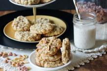 Salted Peanut Butterscotch Oatmeal Cookies