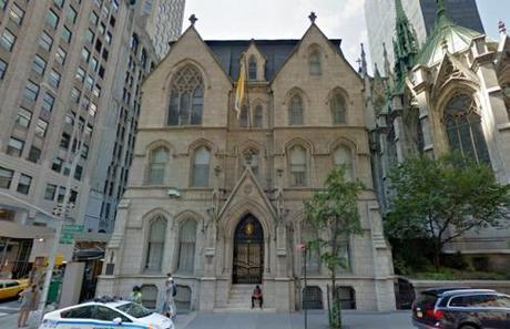 NY Cardinal Dolan's mansion