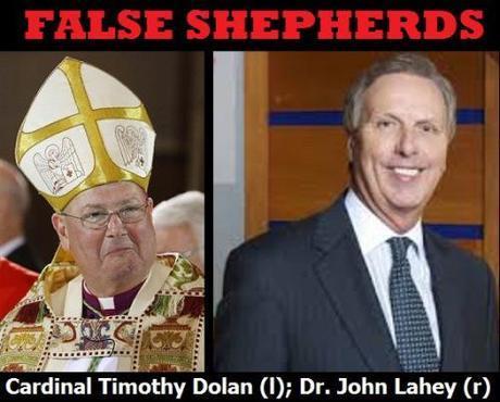 Cardinal Timothy Dolan & Dr. John Lahey