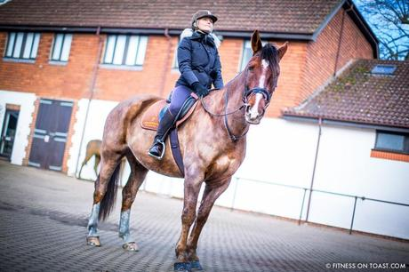 Fitness On Toast Faya Blog Girl Healthy Workout Idea Riding Coworth Park Equestrian Center Horse Fit Health Calorie Burn Muscle Tone Benefits of Riding-13