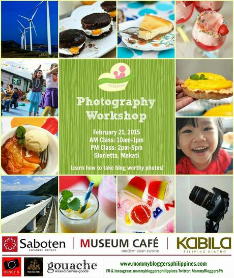 Mommy Bloggers Philippines: Take Blog Worthy Photos Mini Photography Workshop