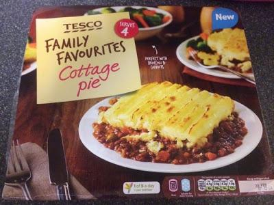 Today's Review: Tesco Family Favourites: Cottage Pie