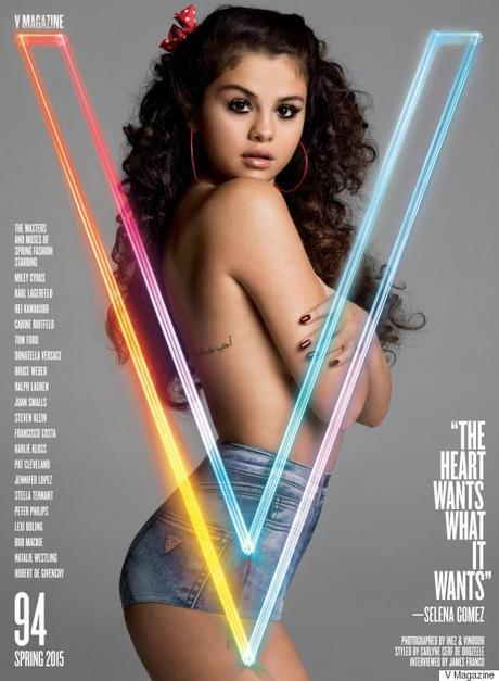 Selena Gomez For V Magazine
