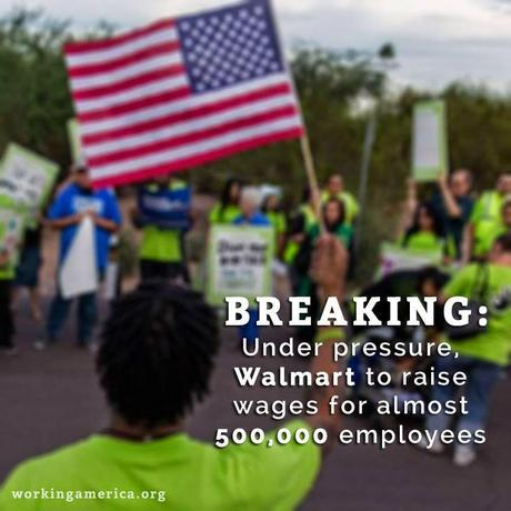 Wal-Mart Announces It Will Raise Worker Wages