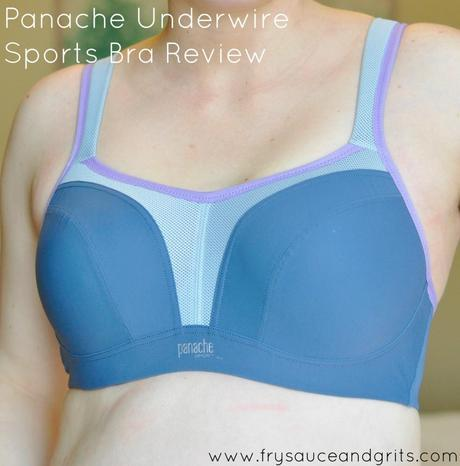 Panache Underwire Sports Bra Review from FrySauceandGrits.com