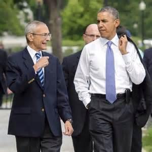 Podesta and Obama