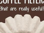 Other Uses Coffee Filters That Really Helpful