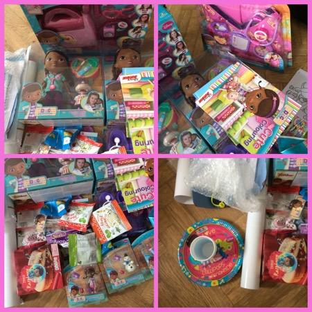 Doc McStuffins Twitter a Party Hosts