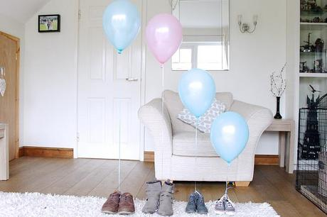 gender reveal, balloon gender reveal, gender reveal ideas