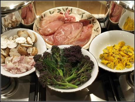 Pheasant breasts and PSB