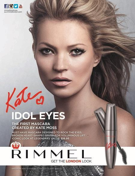 Rimmel London introduces the first mascara by Kate Moss