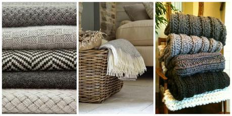 House & Home : My Old Sofas + Throws, Blankets and All Things Snuggly.