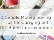 Simple Money Saving Tips Carrying Home Improvements