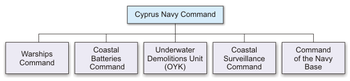 Organizational Structure of the Cyprus Navy