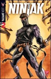 NINJAK #2 – Cover A by Lewis LaRosa