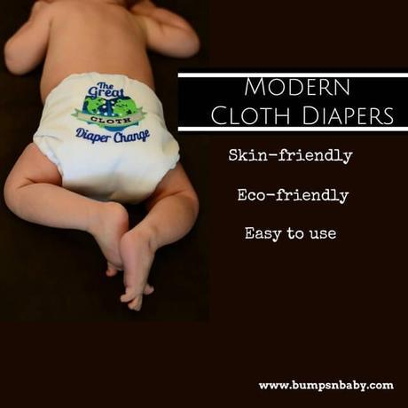 modern cloth diapers for baby