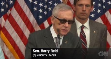 Harry Reid in sunglasses