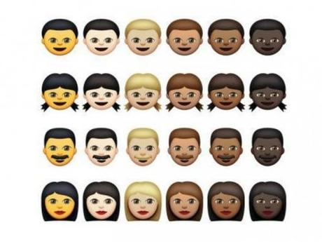 Apple's 50 Shades of Emoji's
