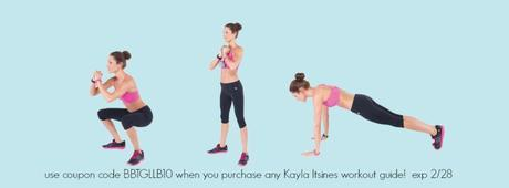 exclusive coupon code for Kayla Itsines bikini body guides – ends Feb 28th!