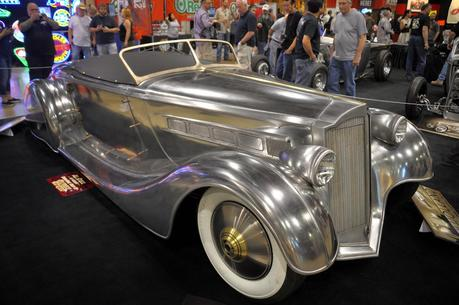 the Mulholland Speedster by Hollywood Hot Rods, a 1936 Packard