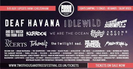 2000 Trees 2015: More Acts Announced