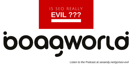 Is SEO Really Evil? An Interview for the Boagworld Podcast