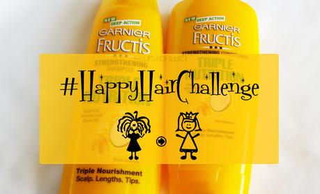 Garnier Fructis | #HappyHairChallenge