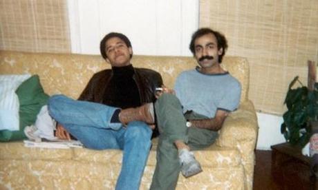 Barack Obama and Sohale Siqqiqi in 1981