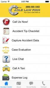 injury attorney phone application